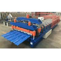 Best PPGI Material Roof Sheet Rolling Machines , Corrugated Roof Sheeting Machine wholesale
