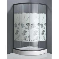 Best Gold fish design toughened glass shower enclosure frameless shower cubicle wholesale