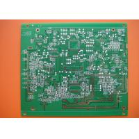 HAL HASL Lead Free Green Solder Mask 1.6mm Double Sided PCB for Card Reader