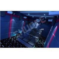Cheap 14 Special effects 5D Cinema System Mini Luxury Leather Motion Chairs 5.1 audio for sale