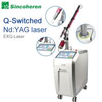 Best Q Switched Nd YAG Laser Tattoo Removal Machine , Laser Treatment For Birthmark / Nail Fungus wholesale