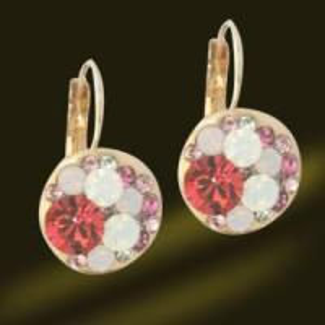 Best Hottest Hoop Shamballa Crystal Earrings, Hook Silver Earrings (ESA3012) wholesale