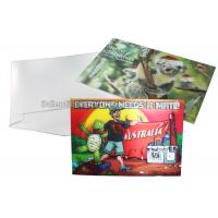Best CMYK Merry Christmas Lenticular Printing Services Greeting Card Heat Resistant wholesale