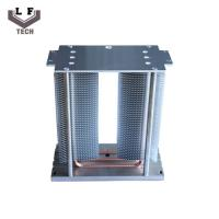Best Passive small size Landscape Lamp Stacked Aluminum Fin Copper Heat Pipe Heat Sink wholesale