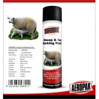 Cheap Eco Friendly Marking Spray Paint , Fast Drying Pig / Cattle / Sheep Marking Paint for sale
