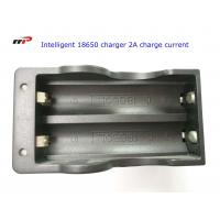Quality 2 Slots 18650 Intelligent Battery Charger Led Display Fast Charging UL CE KC wholesale
