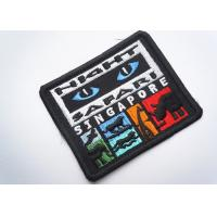Best Rubber  Embroidered Clothing Patch Uniform Sew On For Badges wholesale