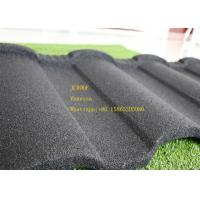 Best Aluminum Zinc Stone Coated Metal Roofing Tile In Red Black Green Brown wholesale