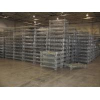 Cheap Stacking Racks Containers Wire Mesh Basket Steel Container Industrial Use Container for sale