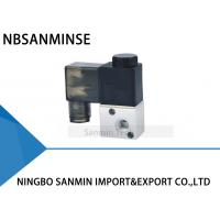 """Best 3 Way Pneumatic Solenoid Valve 2 Position M5 , G 1/8"""" Airtac Type 3V1 Normally Closed wholesale"""