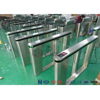Pedestrian Management Automated Gate Systems 304 Stainless Steel Materials