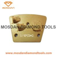 Best Concrete Grinding Trapezoid PCD Diamond for Epoxy Removal wholesale