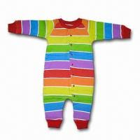 Best Baby Romper Suit, Made of 100% Cotton Interlock, Customized Colors are Accepted wholesale
