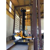 Best 5 X 5 Welding Column And Boom Travel On Rail , With Recovery Machine And Cross Slide wholesale