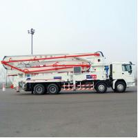 Best Sinotruk HOWO Concrete Pump Truck With 21m Flexible And Efficient Telescopic Boom wholesale