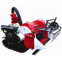 Best 2015 new arrival 4LZ-0.8 Tracked Mini Paddy Wheat Combine Harvester wholesale