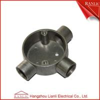 Best Aluminum EMT / IMC Conduit Junction Box Three Way Pipe Fitting Customized , ISO9001 wholesale