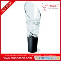 China Acrylic Red Wine Aerator Pour Spout Bottle Stopper Decanter Pourer Aerating New on sale