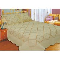 Best Household Bedroom Embroidery Quilt Kits No Bleaching With Machine Made Technics wholesale