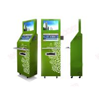 Best Low price Best quality customized functional lobby Self service dual screens touchscreen kiosk with fingerprint reader wholesale