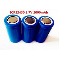 Best li-ion LIR22430 2000mAh 3.7V  rechargeable battery wholesale