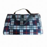 Best Picnic blanket, printed double-sided brush fleece wholesale
