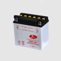 Best 12 Volt 6.5Ah Lightweight Motorcycle Battery Dry Charged wholesale