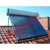 Best Roof Flat Solar Water Heater , Copper Pipe Solar Water Heater For Washing wholesale