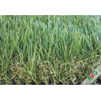 China Anti Static Light Green Artificial Lawn Turf For Balcony , 40 - 50mm Height on sale