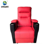Best Home Theater Reclining Sofa Auditorium Movie Room Chairs with Cup Holder wholesale