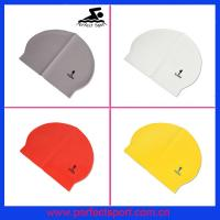Best lovely latex swimming caps wholesale
