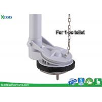 Cheap Single Flapper Flush Valve One Piece Toilet For Toilet Repair Parts Replacement for sale