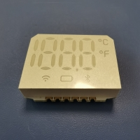 China SMD Seven Segment Display Common Anode 10mm Digit height For Forehead Thermometer on sale