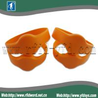 China TK4100 Silicone RFID Wristband Tag  Suitable for High Humidity Environment on sale