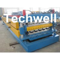 Best High Grade 45# Axis Double Layer Roll Former / Roll Forming Machine For Roofing Sheets wholesale