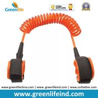 Best Hot Selling Transparent Orange 1.5M Spring Coiled Baby Toddler Anti-lost Harness wholesale