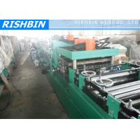 Quality Hot Rolled Coils Adjustable C Purlin Roll Forming Machinery Gcr15 Quenched Roller wholesale