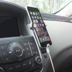 Best Clamp Triangular Smartphone Car Holder Air Vent Mount Holder for Smartphone wholesale