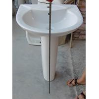 Best 738 Ceramic Pedestal basin wholesale