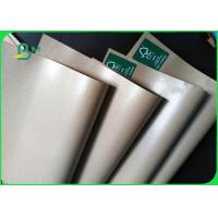 China FSC 15g PE coated 180gsm Brown Kraft Paper Manufacturer for printing and packaging on sale