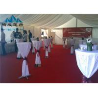 Best Clear Span Transparent Outdoor Event Tent , Aluminum Frame Large Tents For Weddings wholesale