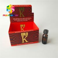 China CMYK Color Packaging Paper Box Advertising E Liquid Cardboard Counter Top Display on sale