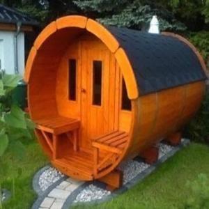 Best Modern Outdoor 2012 New Design Barrel Sauna Room wholesale