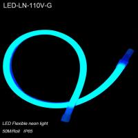 Cheap 110V Outside waterproof IP65 led flexible neon light for hotel decoration for sale