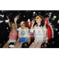 Best High-end Leather 5D Theater System 5D Movie Chair With Bubble Effect wholesale