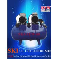 Best K0012 SKI dental one for three silence oil-free air compressor (60L)  CE wholesale