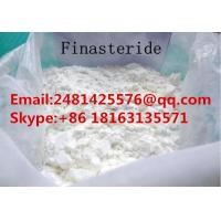 China High 99% Purity Pharmaceutical Raw Steroids Finasteride Powder For Hair Loss Treatment on sale