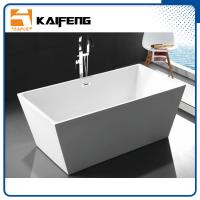 Best Pure Acrylic Square Soaking Tub , Extra Deep Soaking Tub For Small Bathrooms wholesale