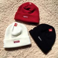Cheap 【wechat cx2801f】supreme beanies men and women knitted caps cheap for retail and for sale