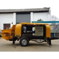 Best HBTS Mobile Diesel Portable Hydraulic Trailer Concrete Pump wholesale